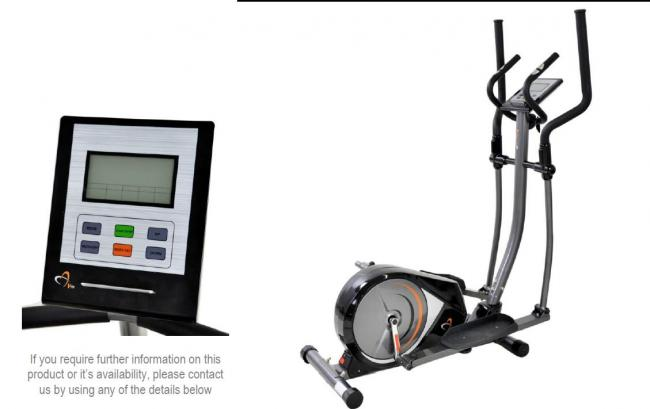 PROGRAMMABLE MAGNETIC CROSS TRAINER  EL071