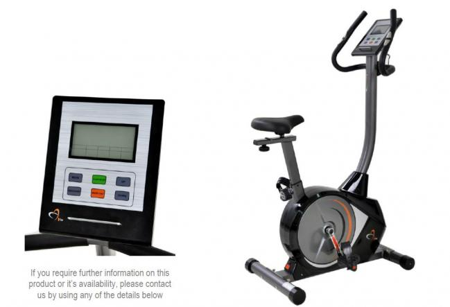 PMUC-1 PROGRAMMABLE MAGNETIC UPRIGHT CYCLE TRAINER CY095