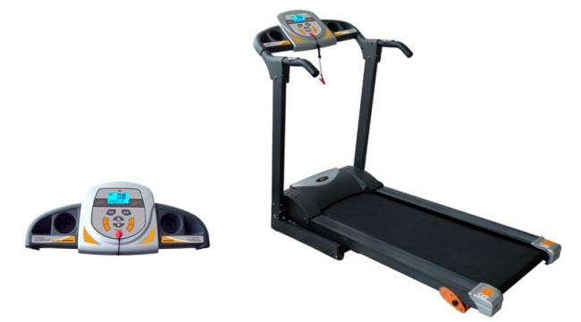 PT12/1 STARTER MOTORISED FOLDING PROGRAMMABLE TREADMILL TR045