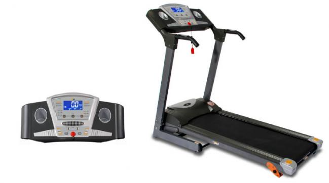 PT12/2 INTERMEDIATE MOTORISED FOLDING PROGRAMMABLE TREADMILL TR046