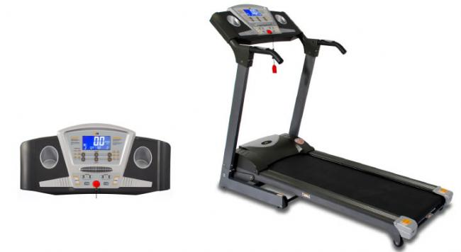 PT12/3 ACHIEVER MOTORISED FOLDING POWER PROGRAMMABLE TREADMILL TR047