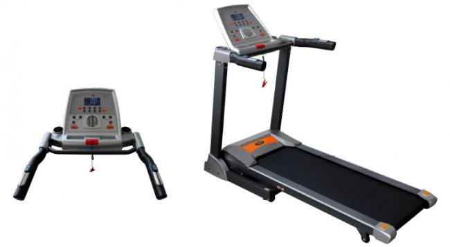 PT12/4 ATHLETE MOTORISED FOLDING POWER PROGRAMMABLE TREADMILL TR048