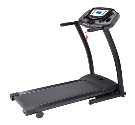 PT141 MOTORISED FOLDING PROGRAMMABLE TREADMILL TR051