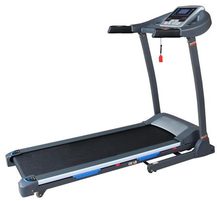USED PT142 MOTORISED POWER INCLINE FOLDING PROGRAMMABLE TREADMILL TR052