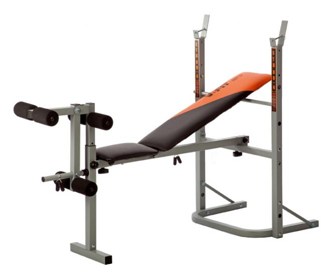 HERCULEAN STB09-1 FOLDING WEIGHT BENCH WITH LEG UNIT BE003