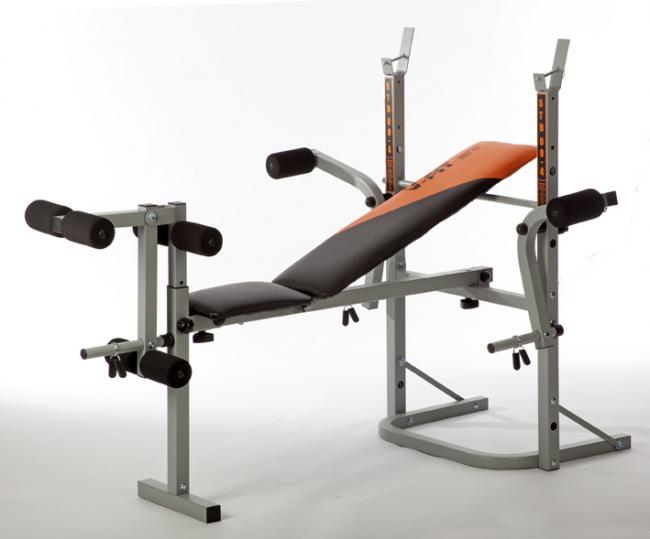 HERCULEAN STB09-2 FOLDING WEIGHT BENCH WITH LEG UNIT & FLY BE005
