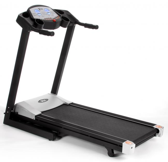 T2-08 FOLDING POWER MOTORISED PROGRAMMABLE TREADMILL - TR030